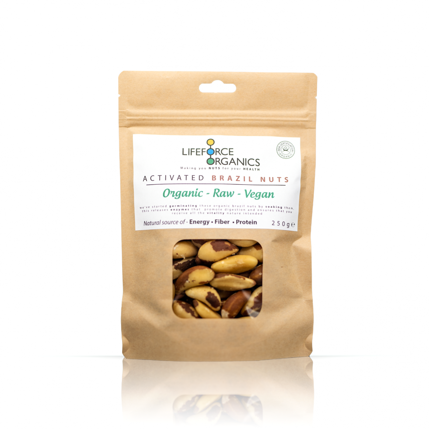 Activated Brazil Nuts (Organic) 250g