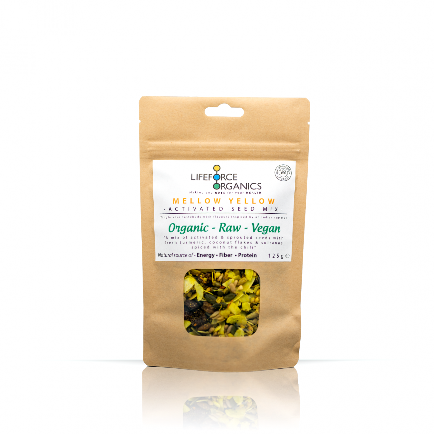 Mellow Yellow Activated Seed Mix (Organic) 125g
