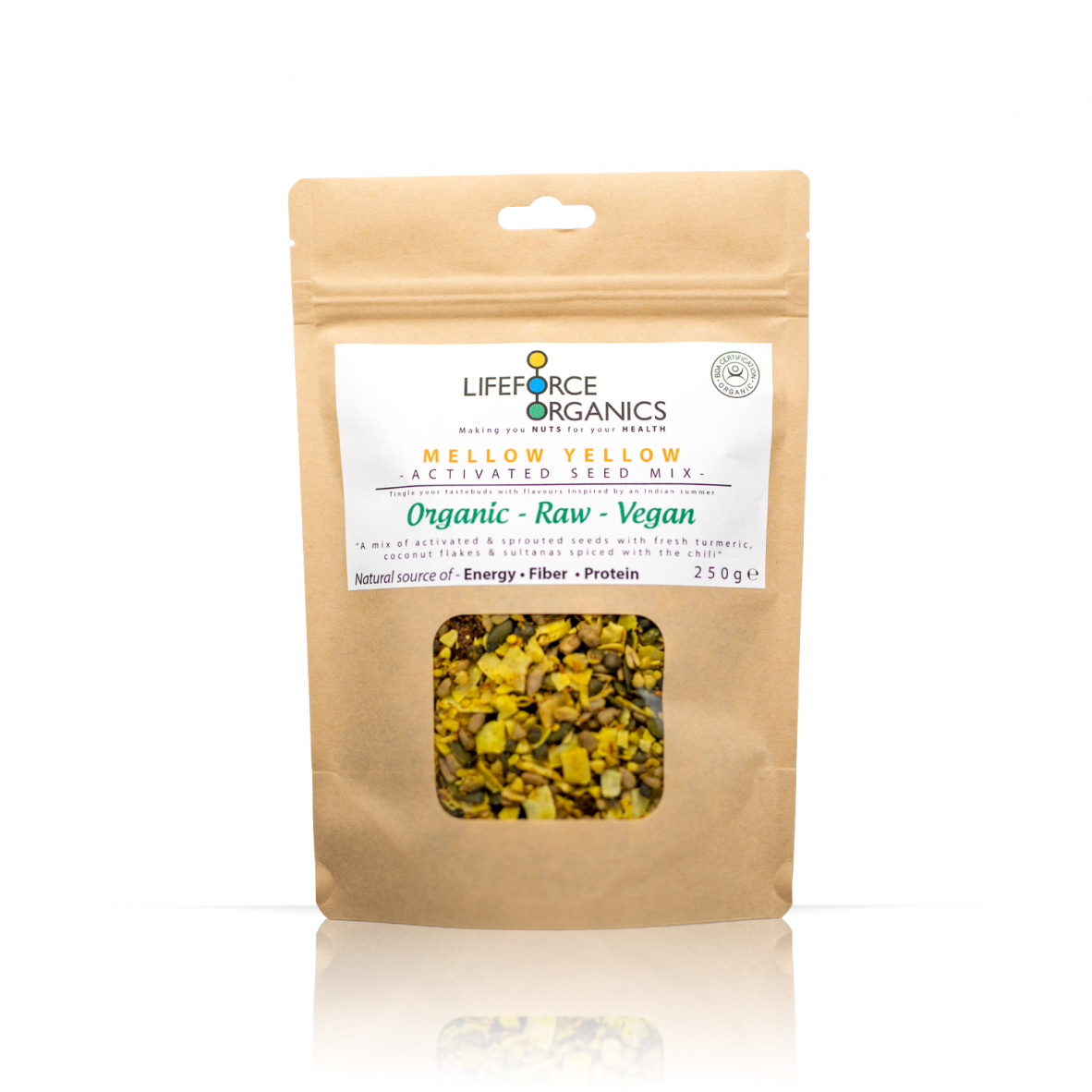 Mellow Yellow Activated Seed Mix (Organic) 250g