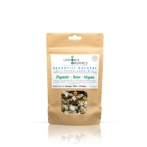 Naughtily Natural Activated Seed Mix (Organic) 125g
