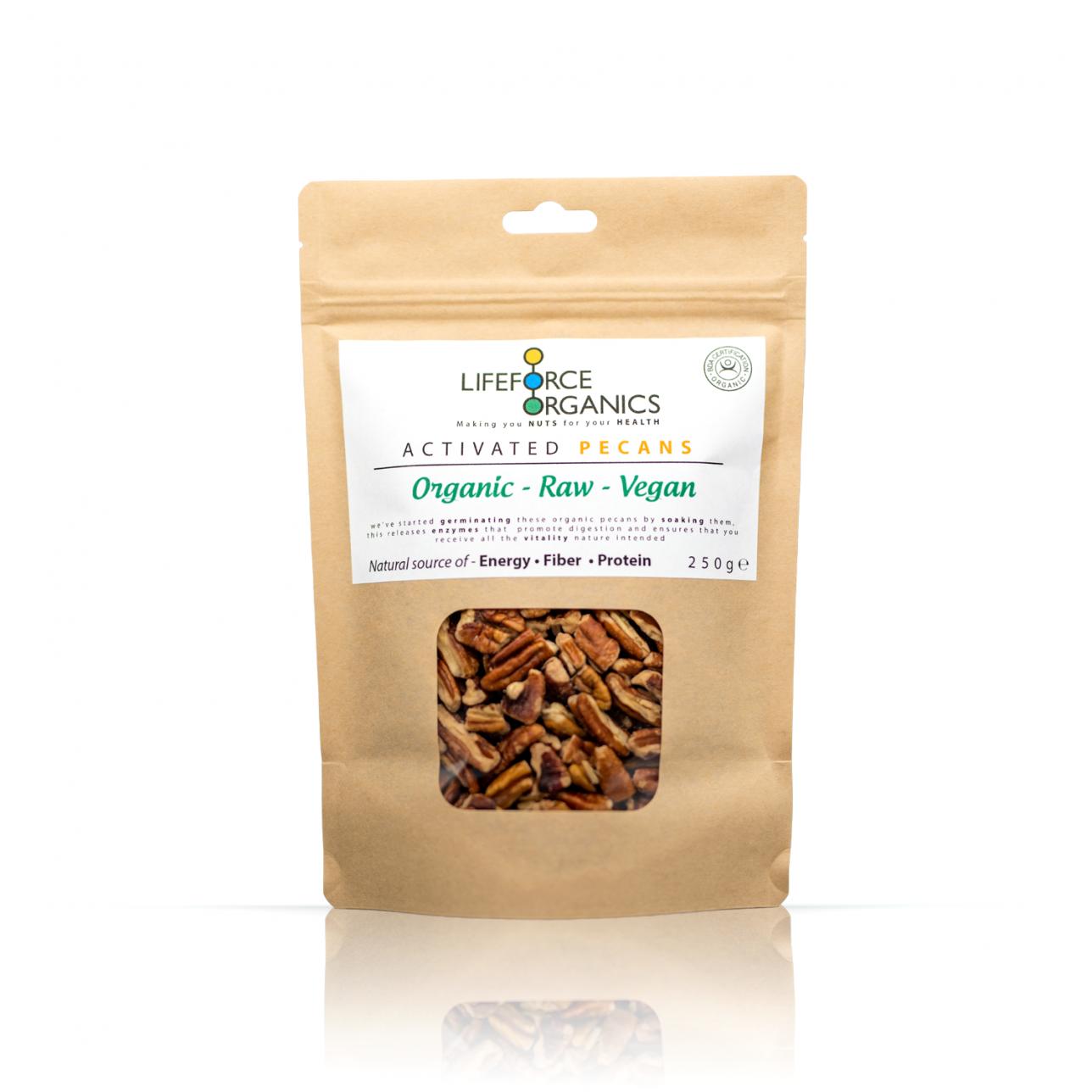 Activated Pecans (Organic) 250g