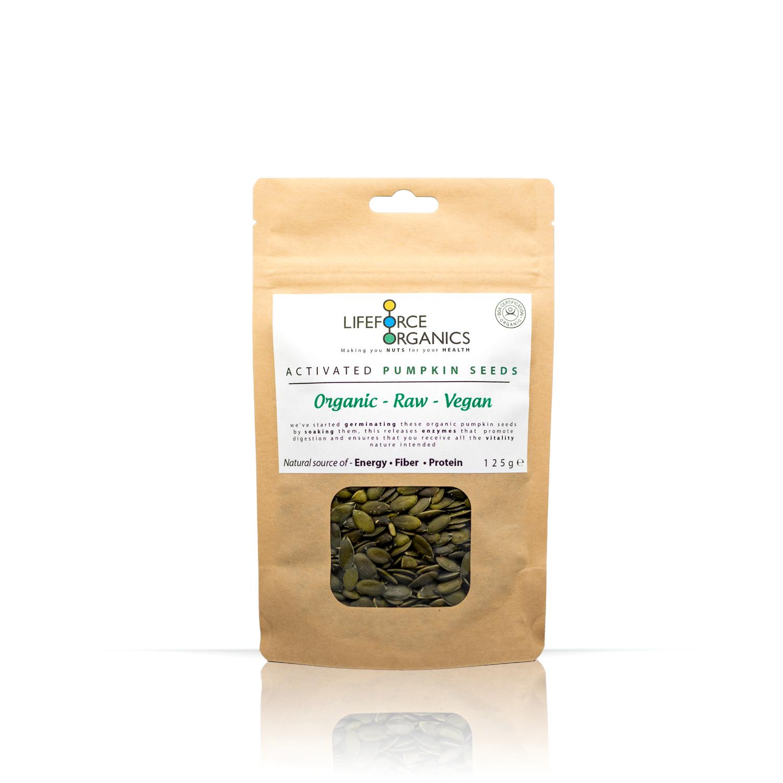 Activated Pumpkin Seeds (Organic) 125g