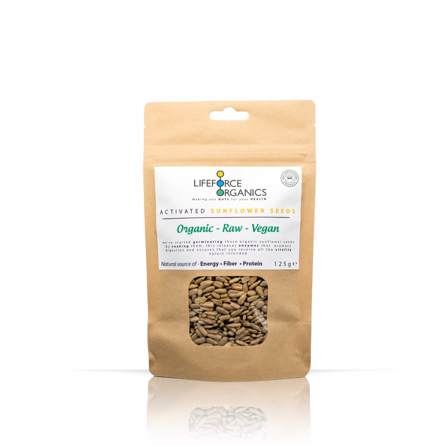 Activated Sunflower Seeds (Organic) 125g