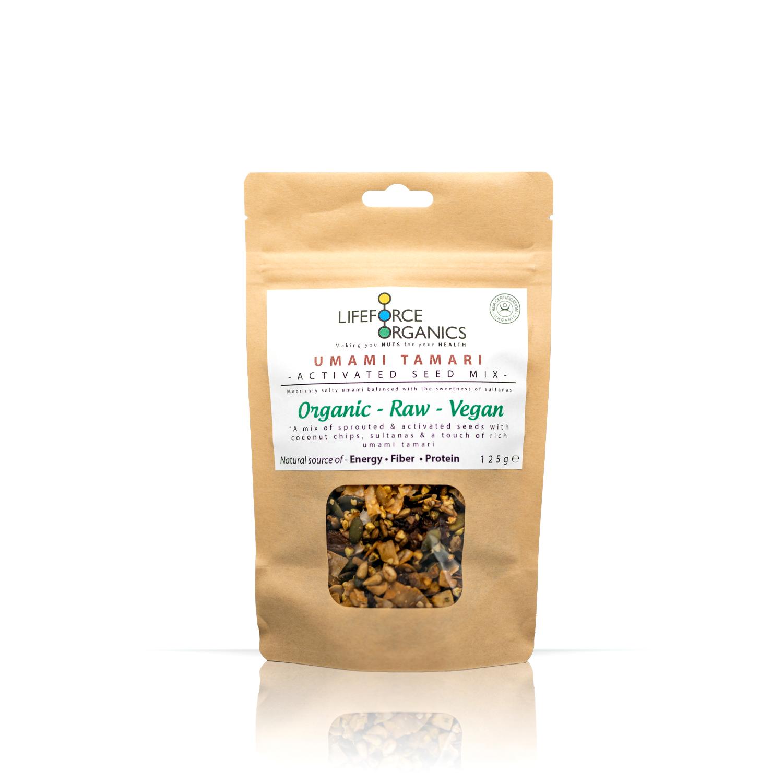 Activated Umami Tamari Seed Mix (Organic) 125g