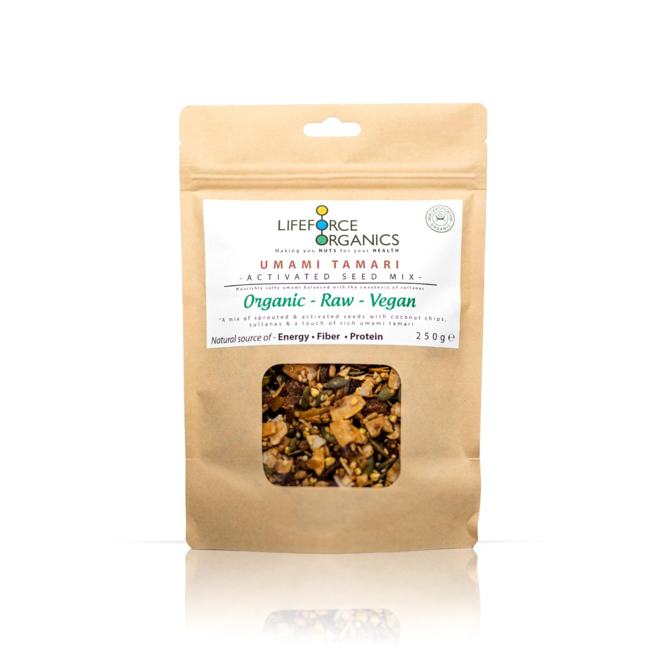 Umami Tamari Activated Seed Mix (Organic) 250g