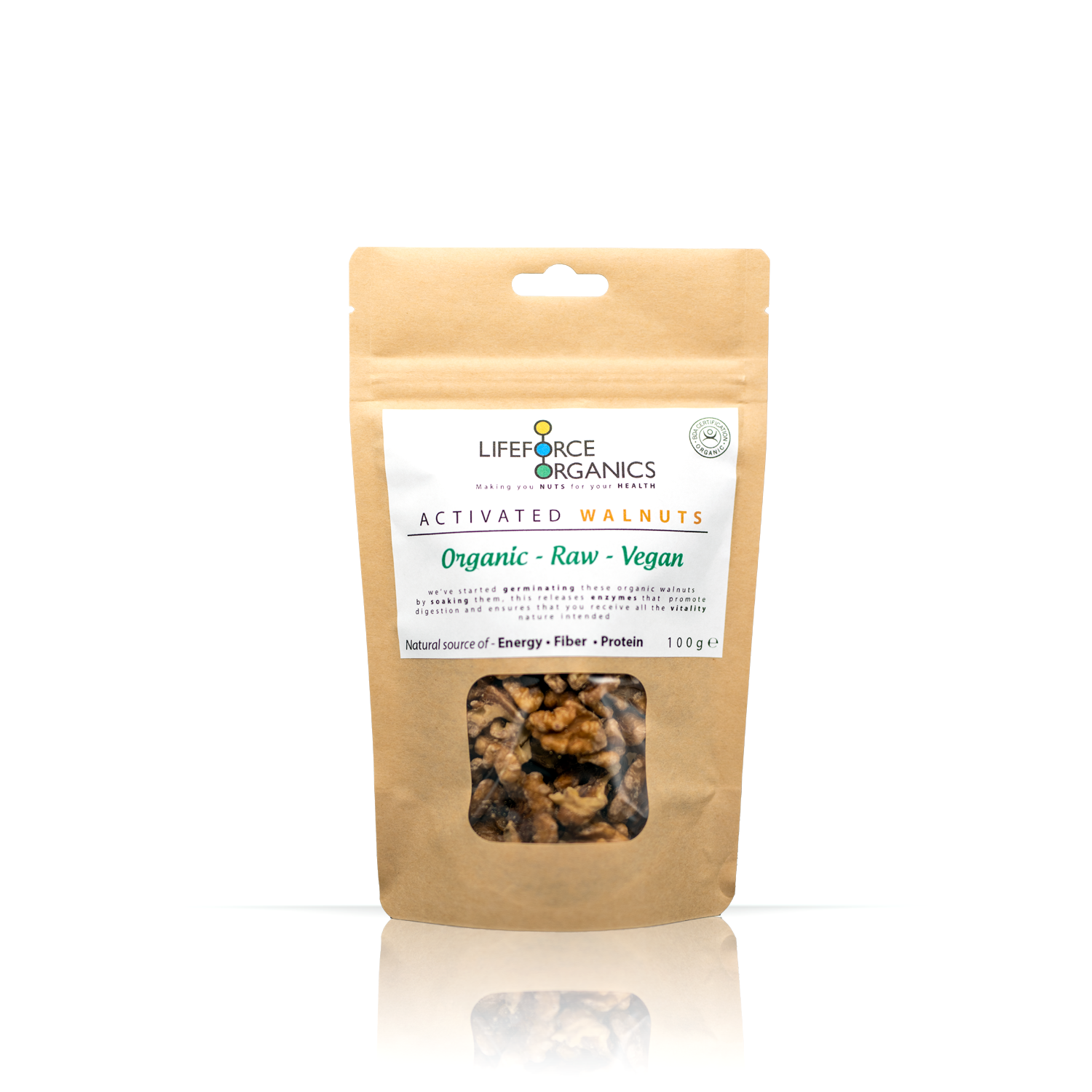 Activated Walnuts  (Organic) 100g