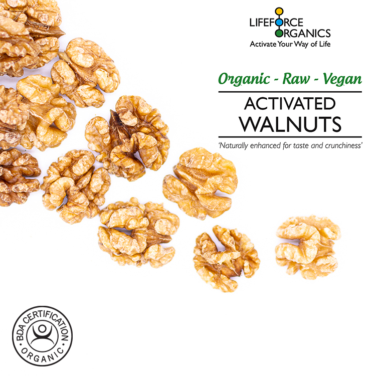 Activated Walnuts (Organic) 200g