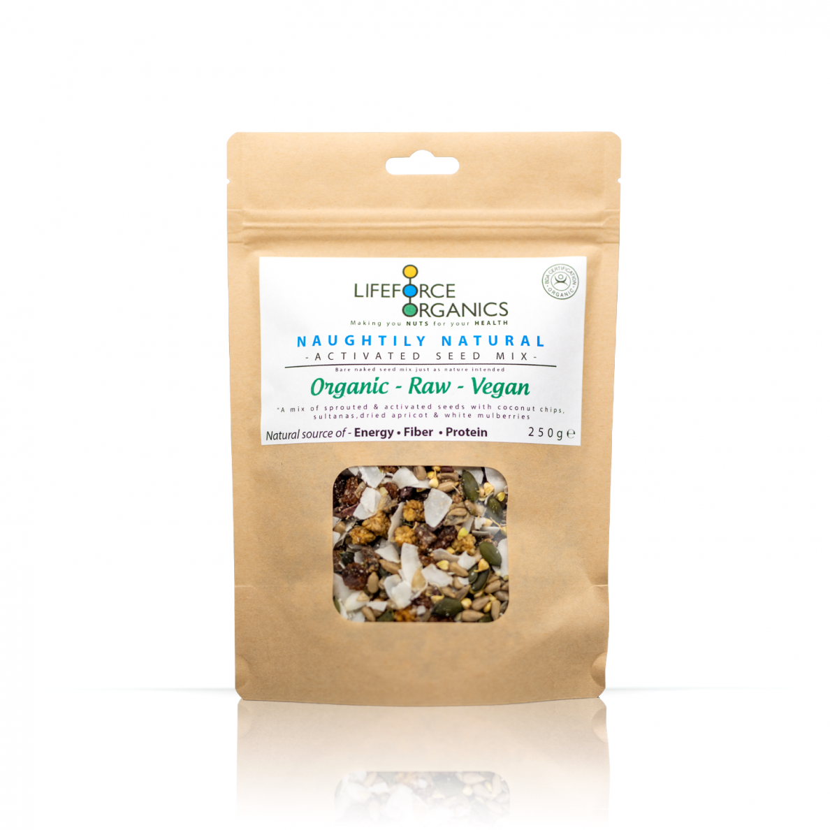 Naughtily Natural Activated Seed Mix (Organic) 1kg