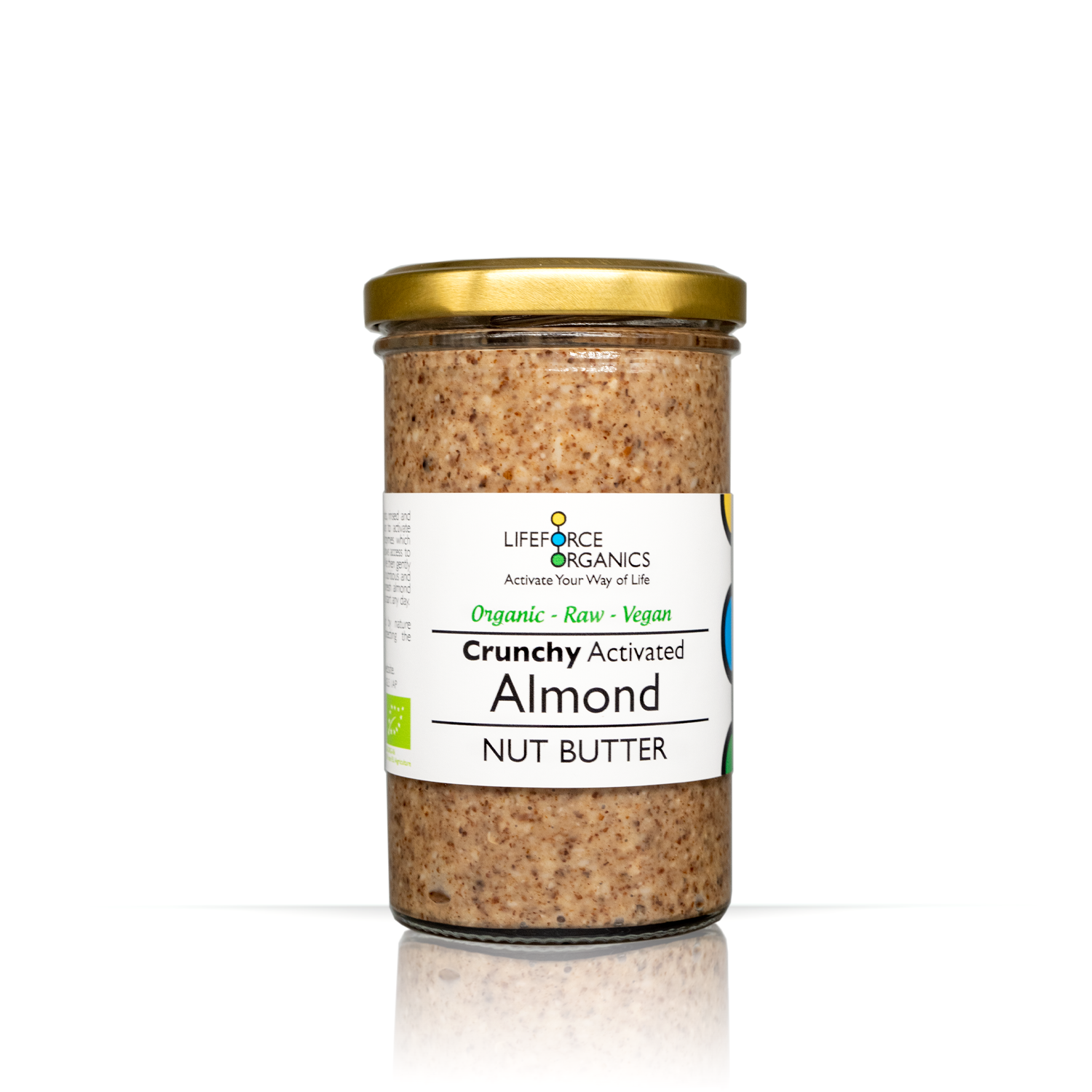 Activated Crunchy Almond Nut Butter 250g
