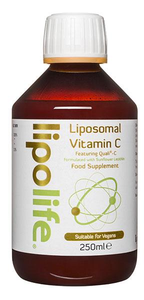 Liposomal Vitamin C Featuring Quali C with Sunflower Lecithin  250ml