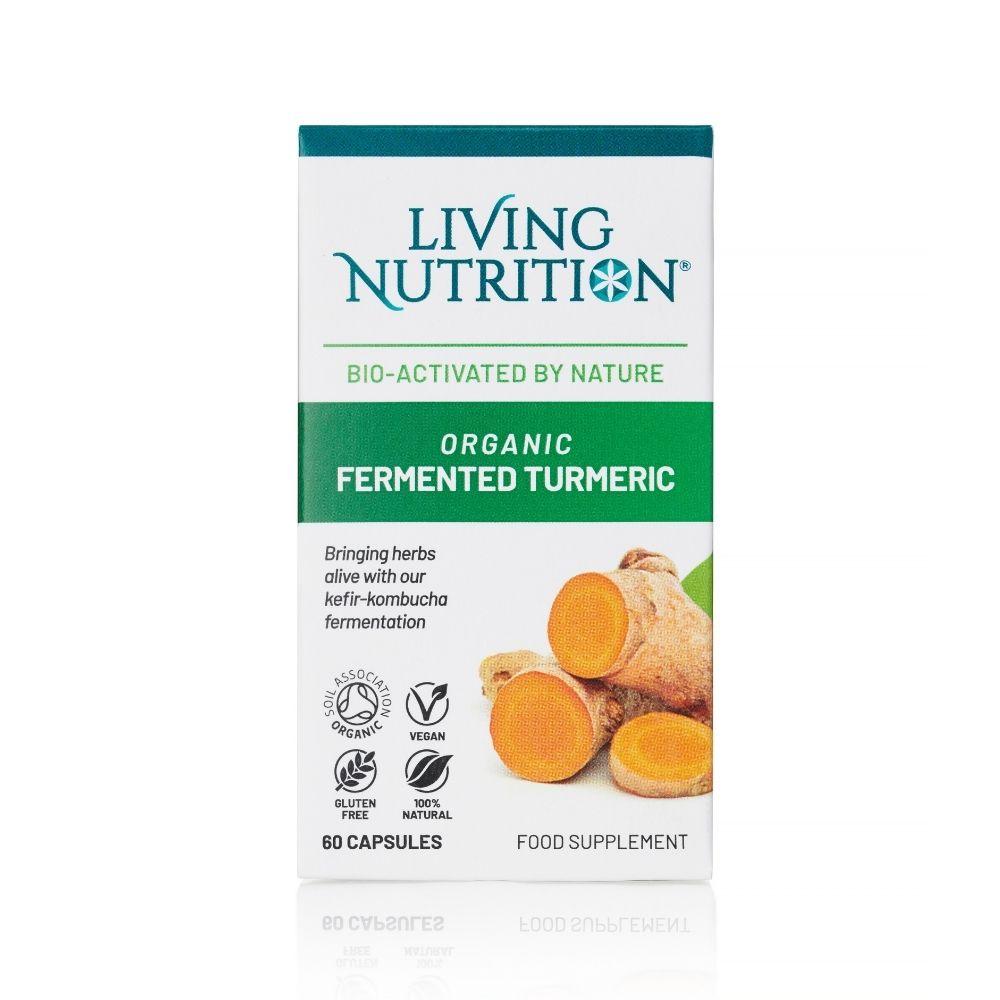 Organic Fermented Turmeric 60's
