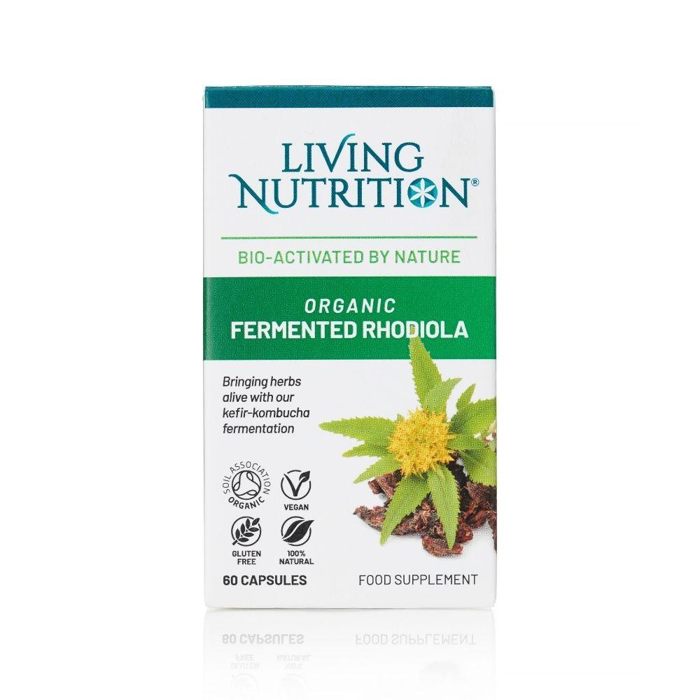 Organic Fermented Rhodiola 60's