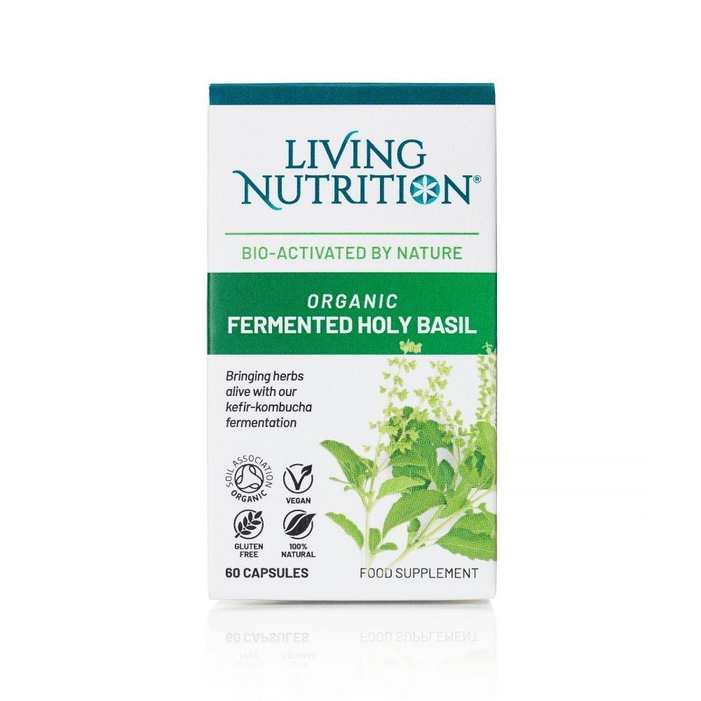 Organic Fermented Holy Basil 60's