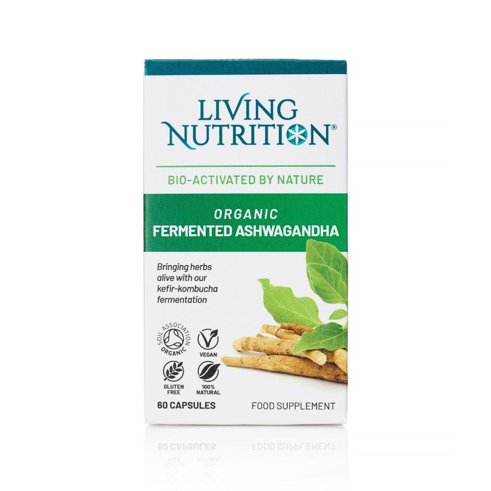 Organic Fermented Ashwagandha 60's