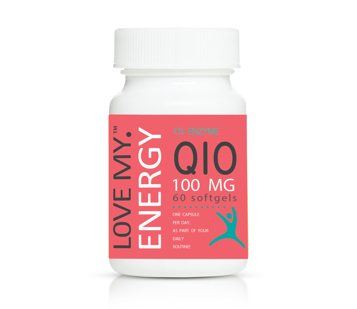 Love My Energy Co Enzyme Q10 100mg 60's