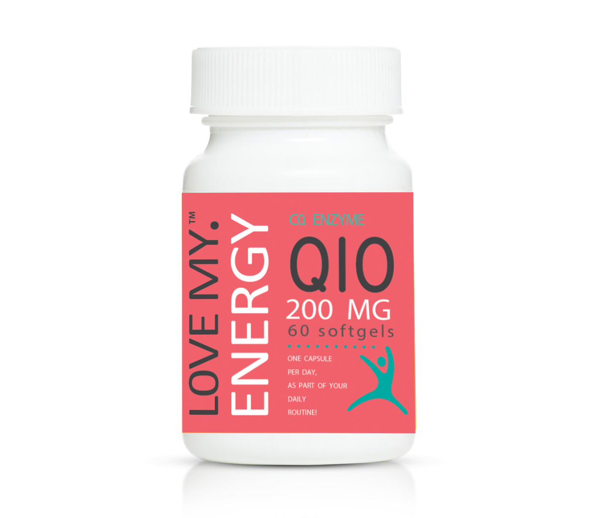 Love My Energy Co Enzyme Q10 200mg 60's