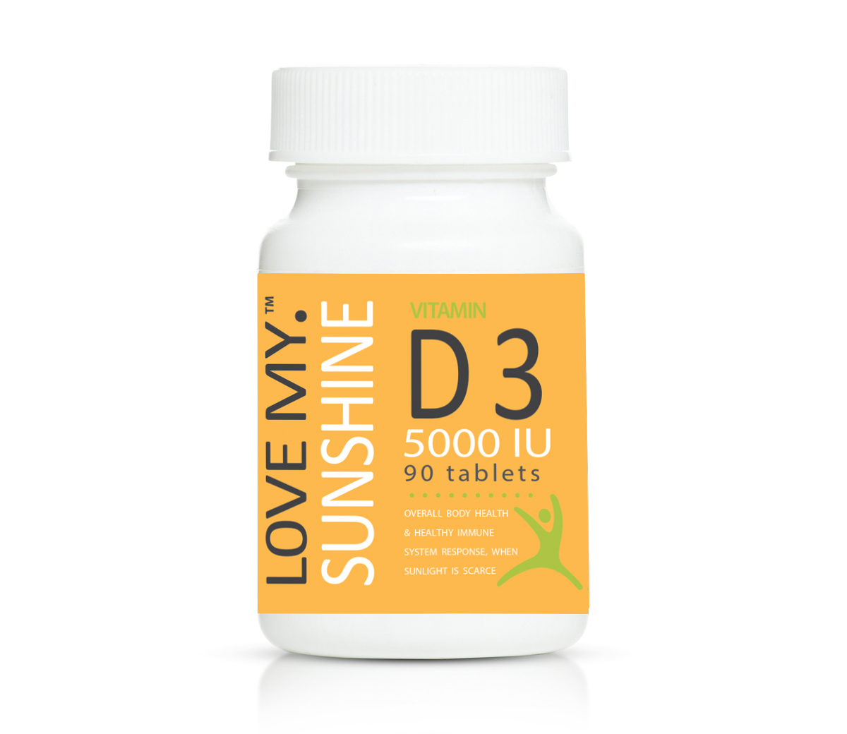 Love My Sunshine Vitamin D3 5000iu 90's