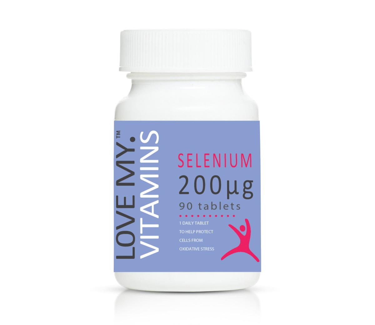 Love My Vitamins Selenium 200mcg 90's