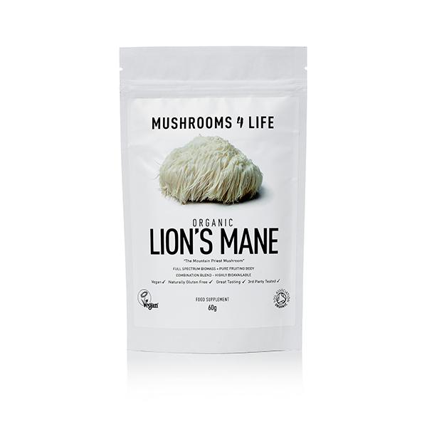 Organic Lion's Mane 60g