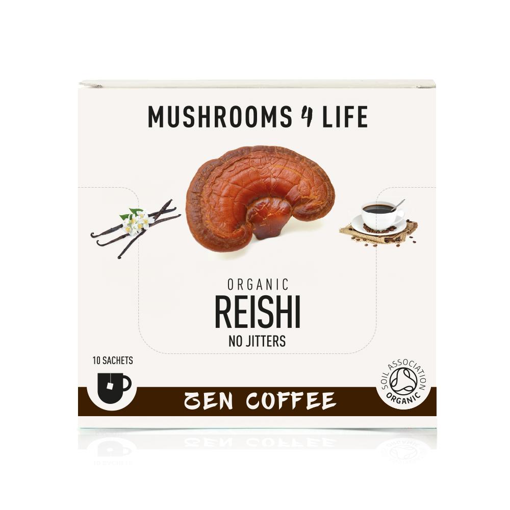 Organic Reishi Zen Coffee 10's