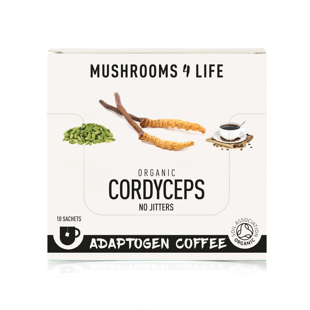 Organic Cordyceps Adaptogen Coffee 10's