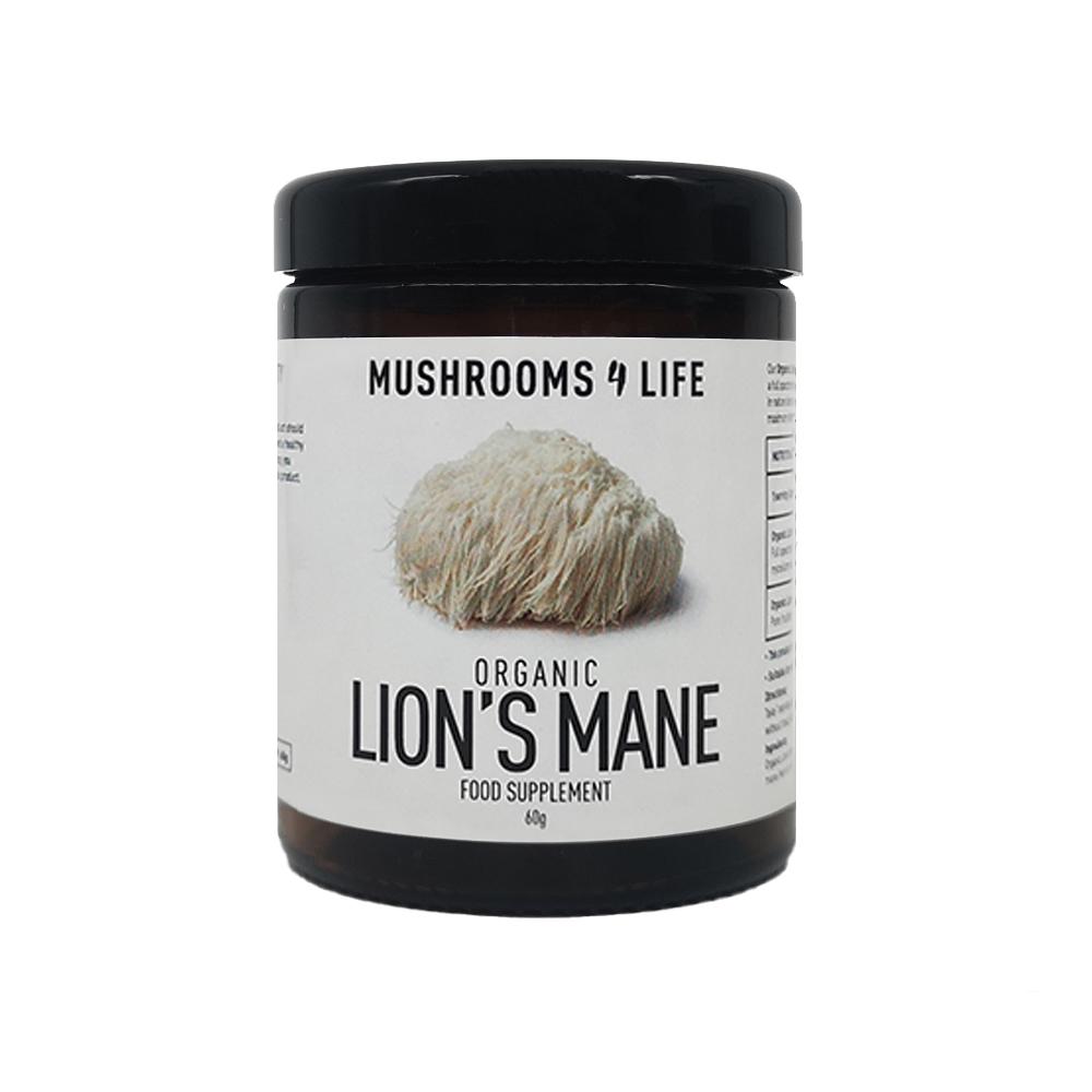Organic Lion's Mane Powder 60g