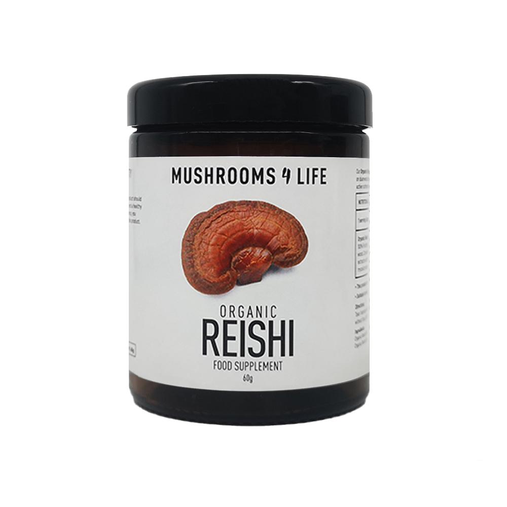 Organic Reishi Powder 60g