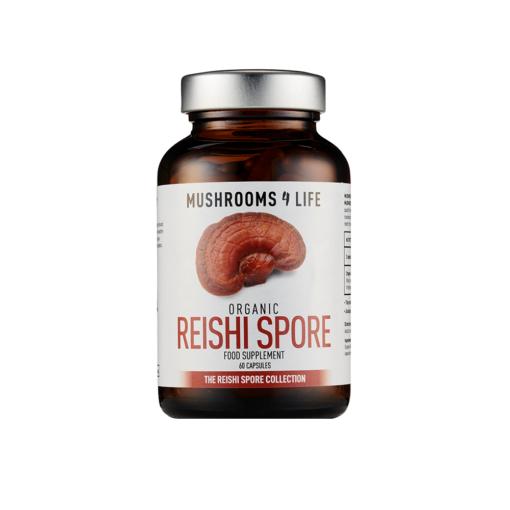 Organic Reishi Spore 60's