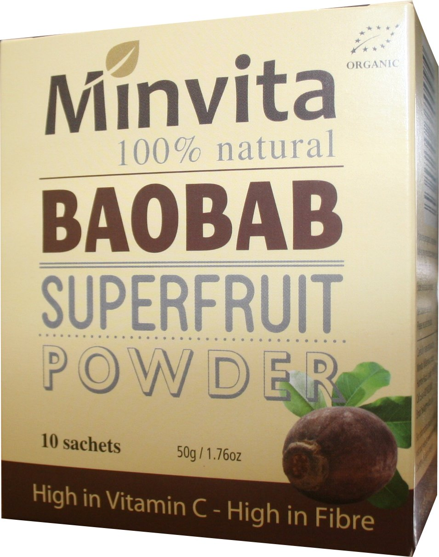 Baobab Superfruit Sachets 10 x 5g
