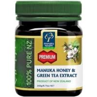 Premium Manuka Honey & Green Tea Extract 250g