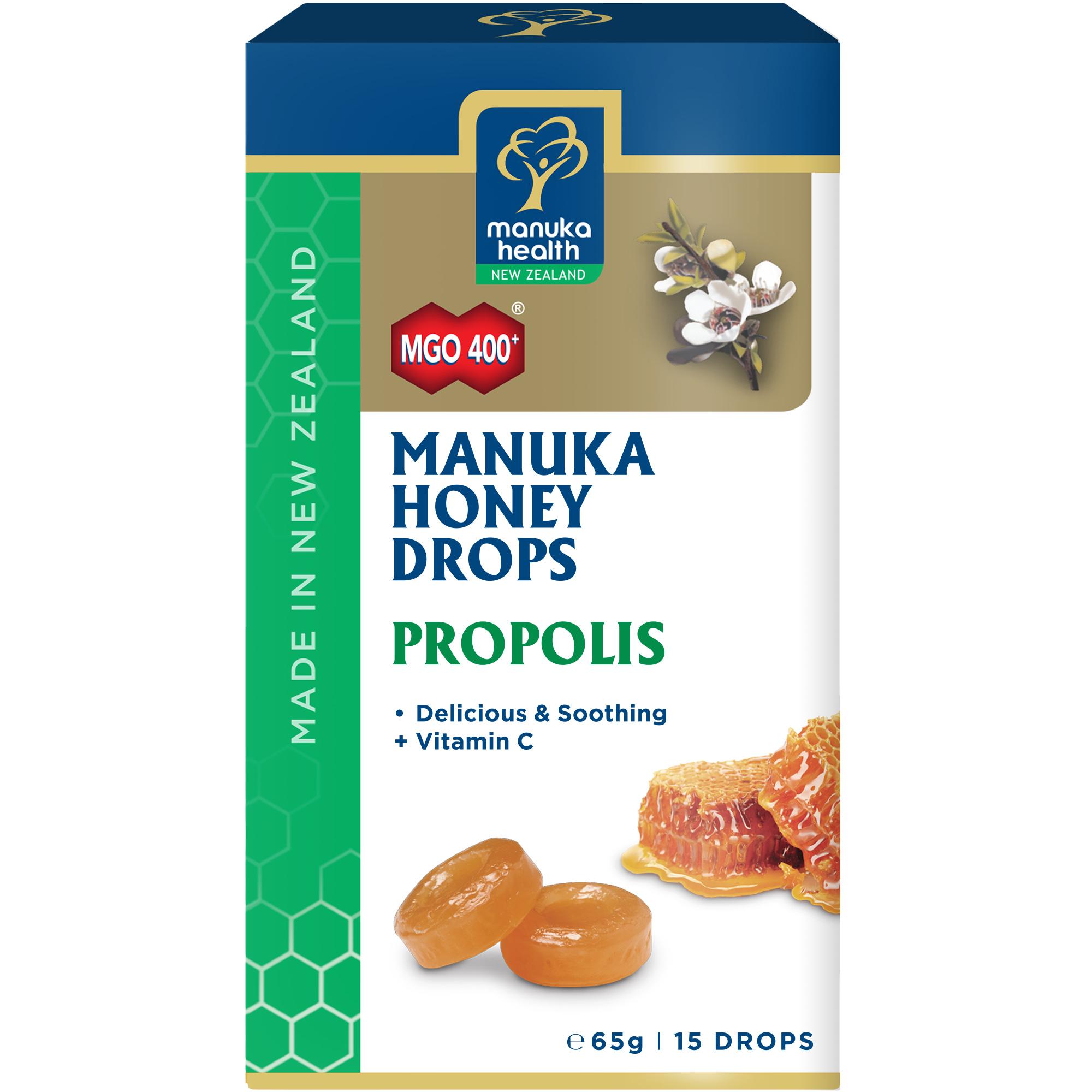 Manuka Honey Drops with Propolis 15's