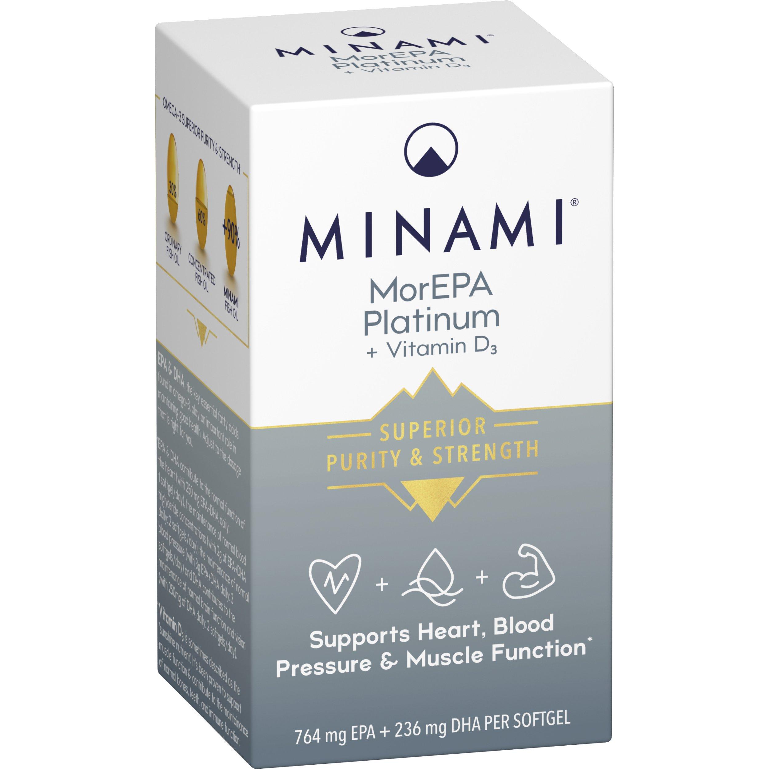 MorEPA Platinum Vitamin D3 60's