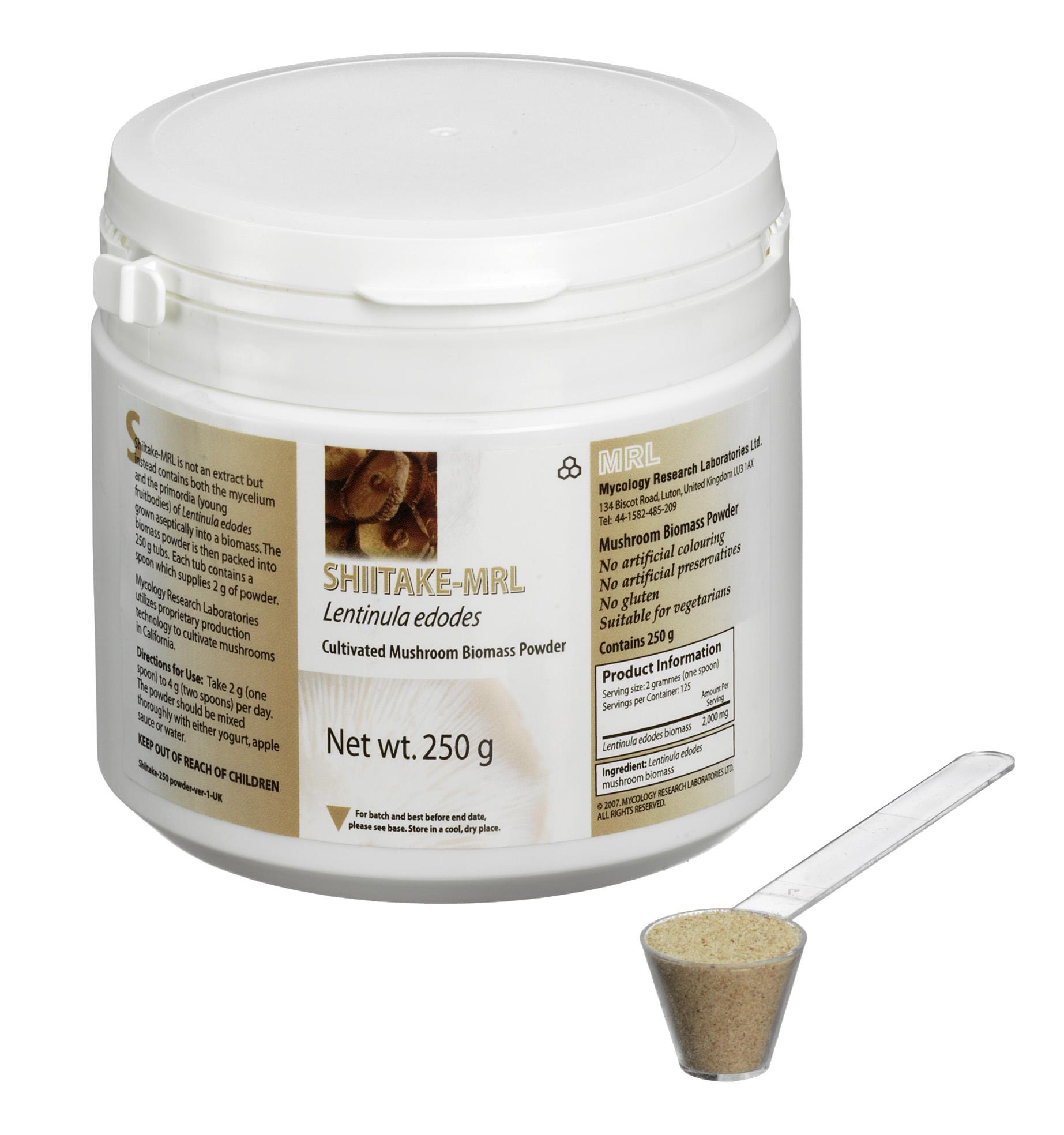 Shiitake-MRL 250g powder