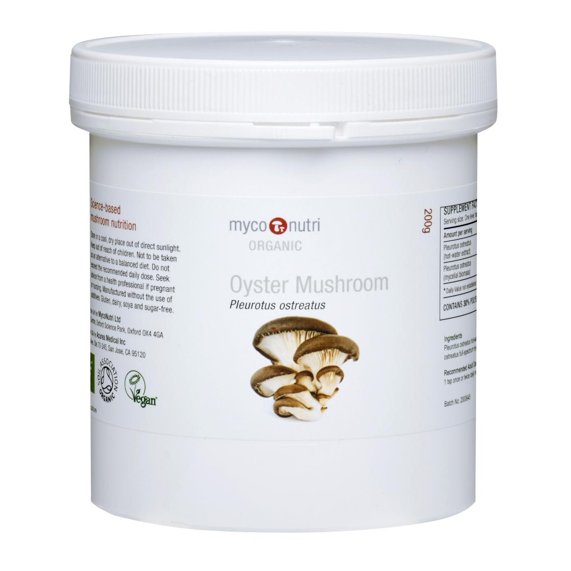Oyster Mushroom Powder (Organic) 200g