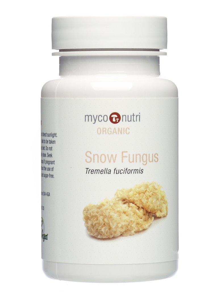 Snow Fungus Capsules (Organic) 60's
