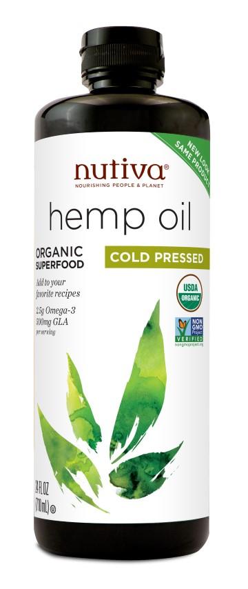 Organic Hemp Oil Cold Pressed 710ml