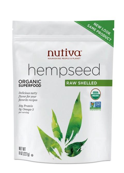 Organic Hempseed Raw Shelled 227g