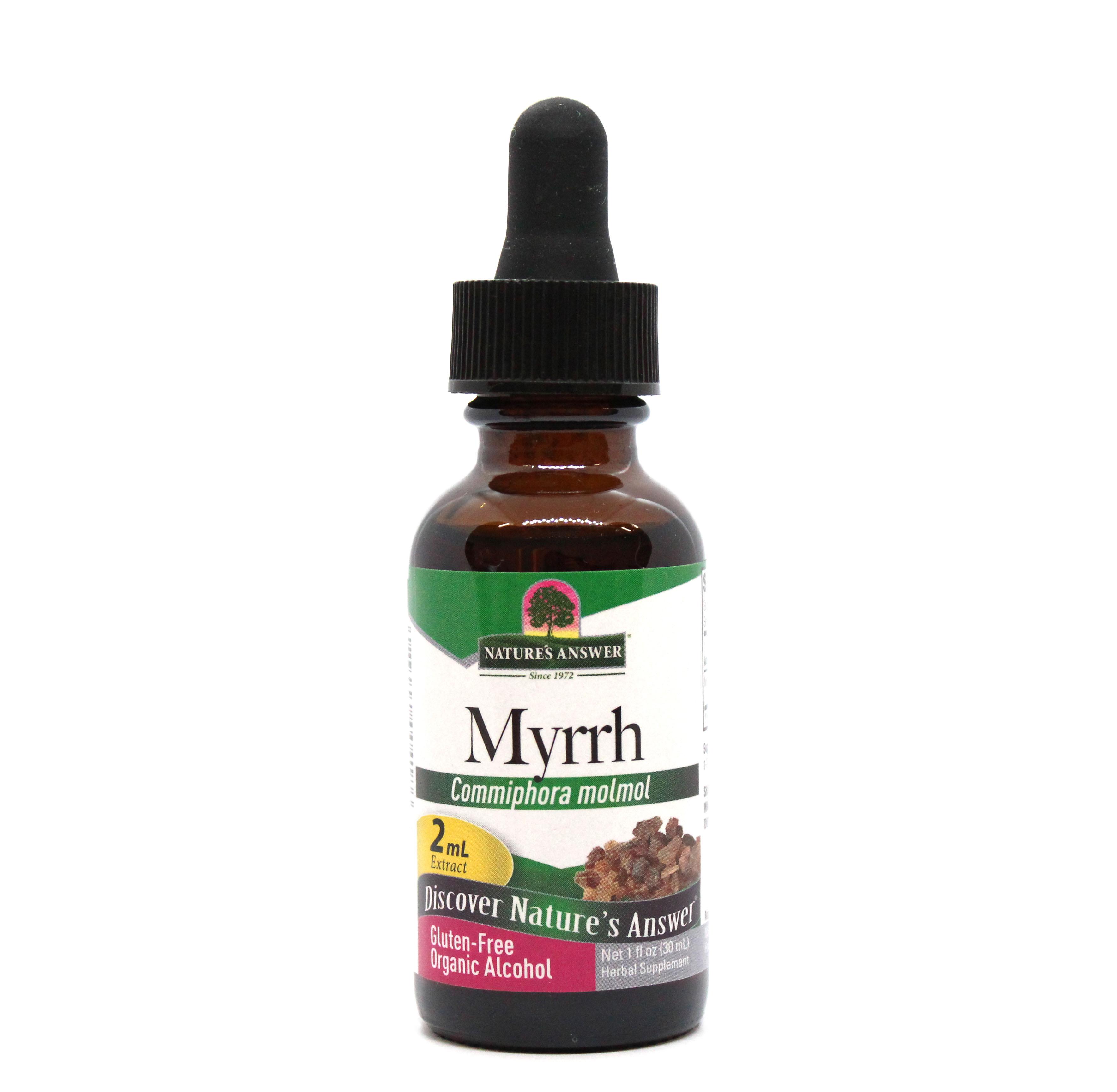 Myrrh (Organic Alcohol) 30ml