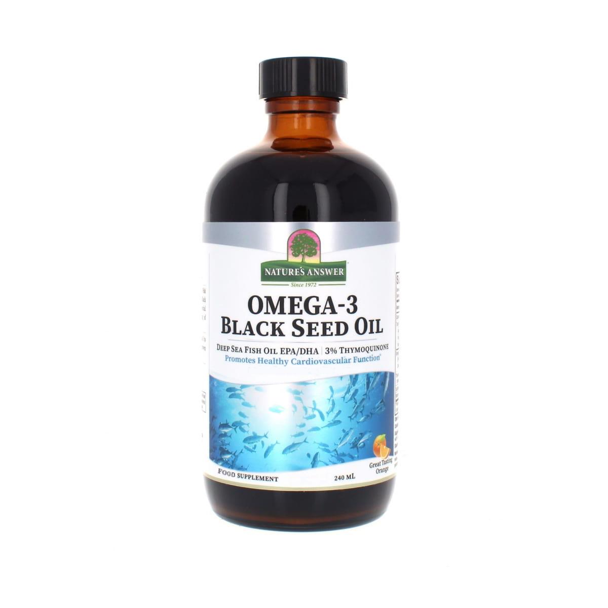 Omega-3 Black Seed Oil 240ml
