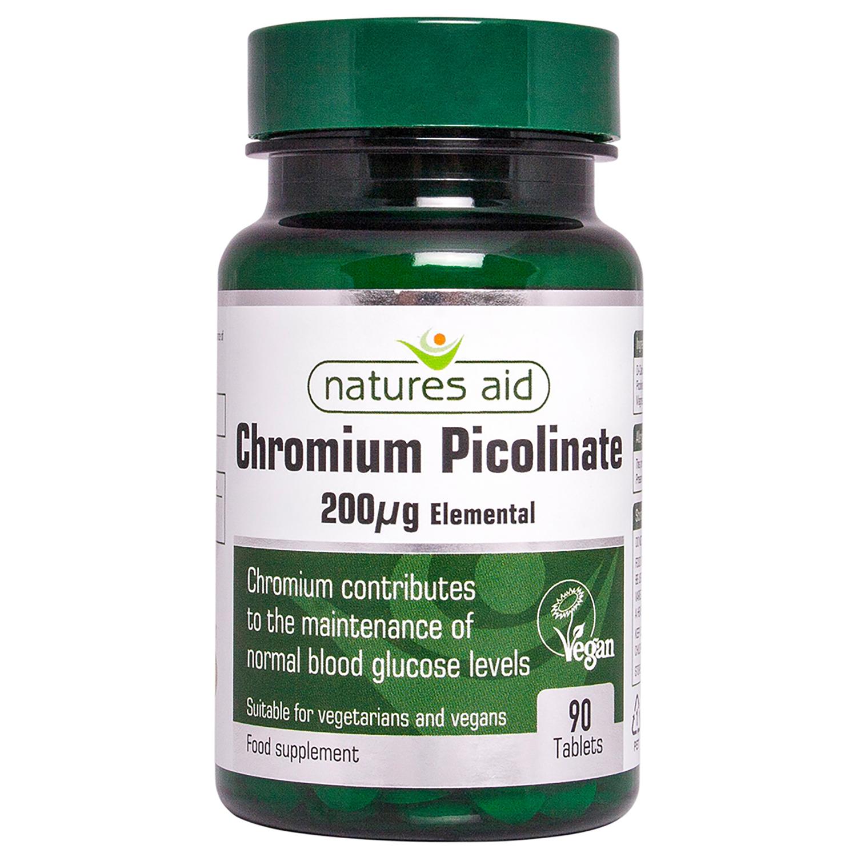 Chromium Picolinate 200µg Elemental 90s