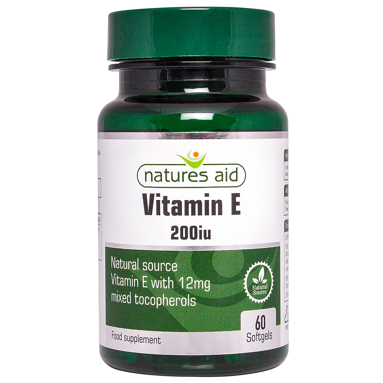 Vitamin E 200iu 60's