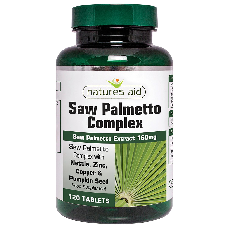 Saw Palmetto Complex 120's