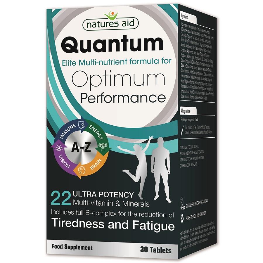 Quantum Elite Multi-Nutrient Formula For Optimum Performance 30's