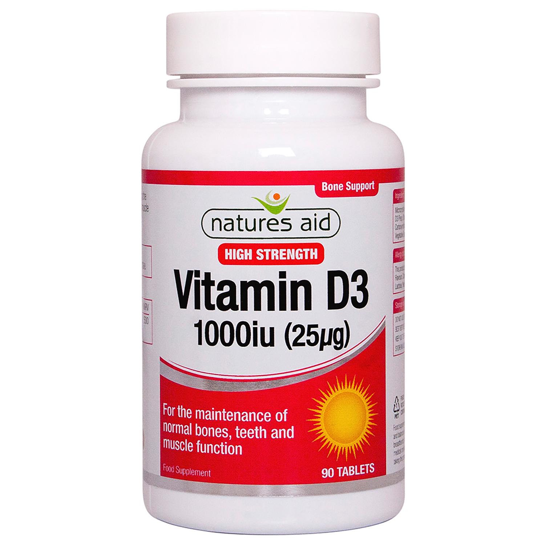 Vitamin D3 1000iu 90's
