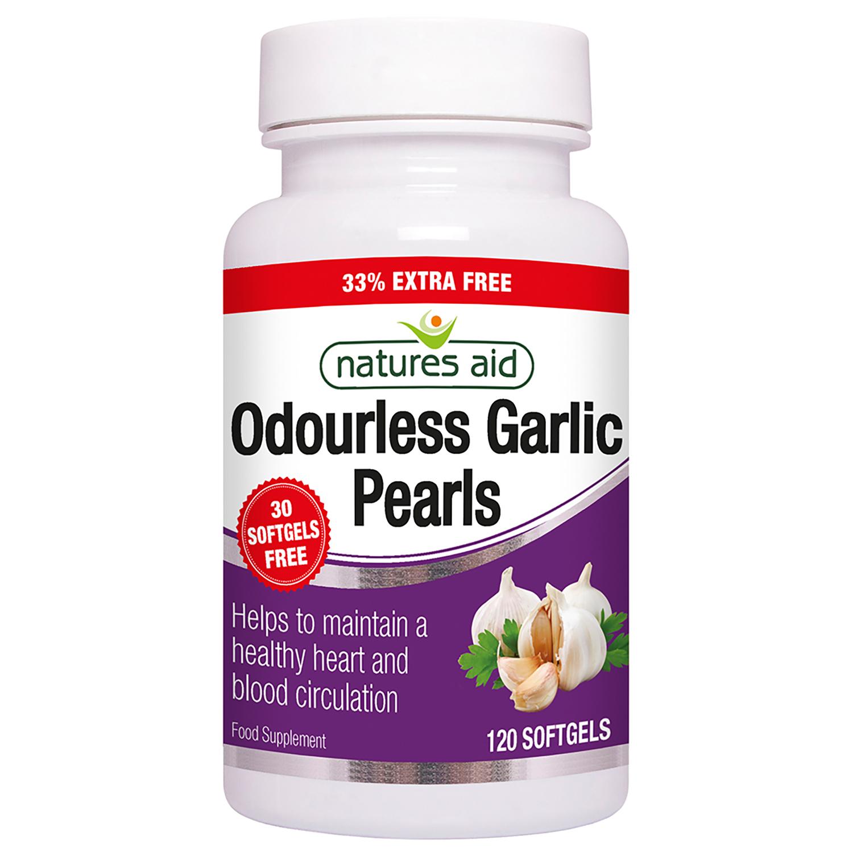Odourless Garlic Pearls 120's