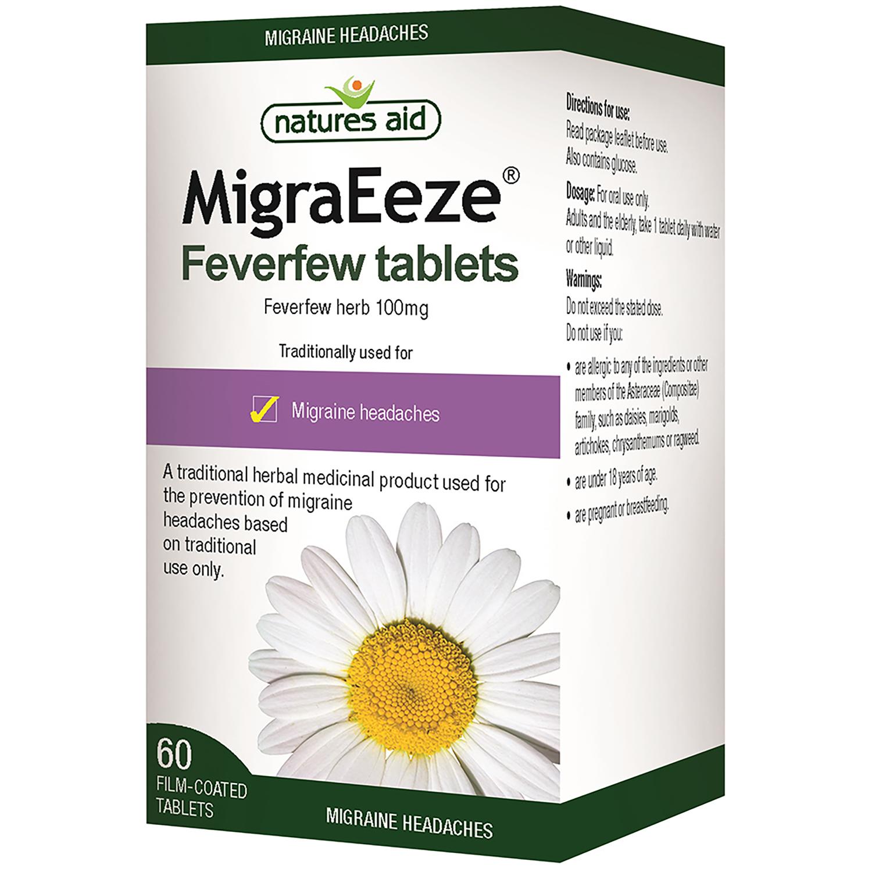 MigraEeze Feverfew 100mg 60's