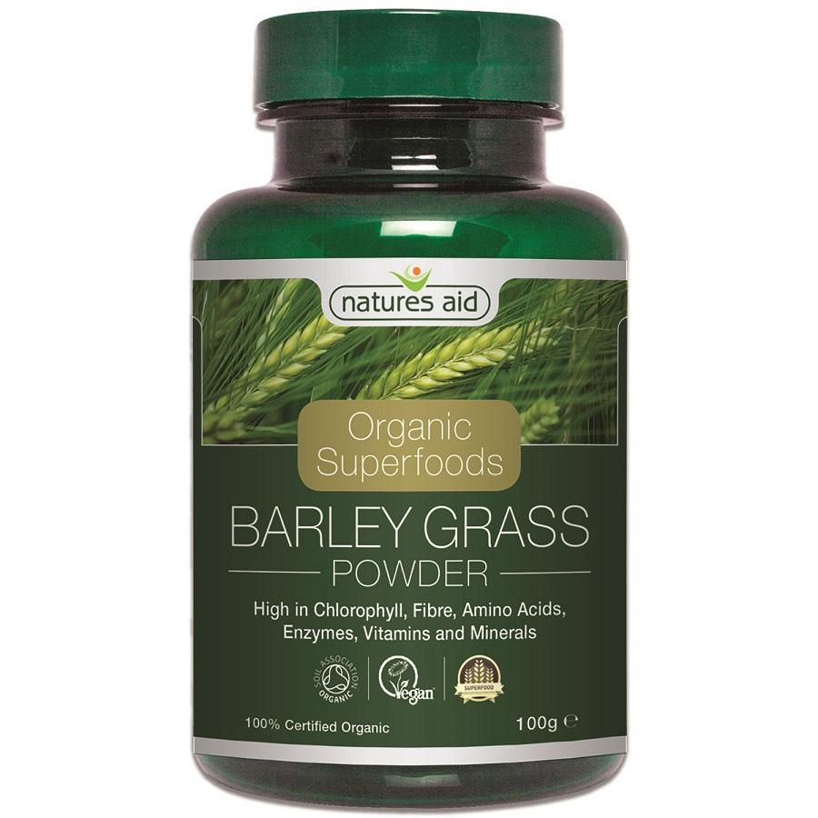 Organic Superfoods Barley Grass Powder 100g