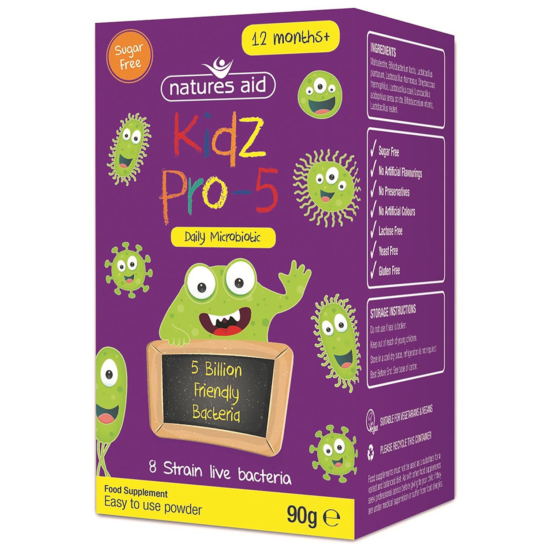 Kidz Pro-5 (Daily Microbiotic) 90g