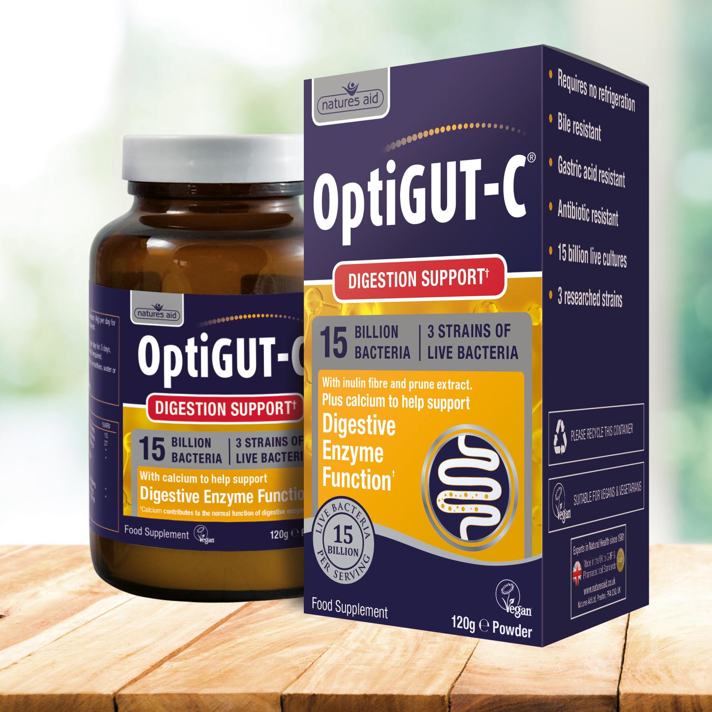 OptiGUT-C (15 Bn) with Calcium, Inulin, Prune & Magnesium 120g