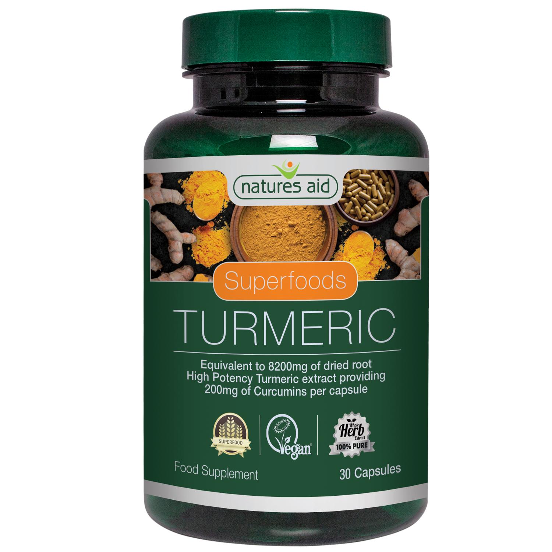 Superfoods Turmeric 30's